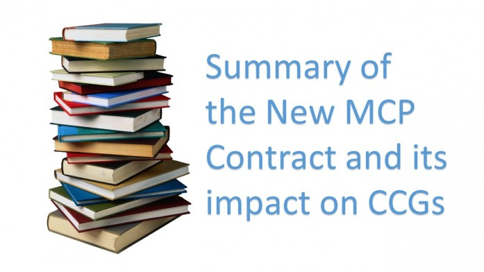 The New Multispecialty Community Provider (MCP) contract and