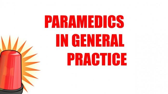 Paramedics in General Practice